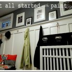 Eclectically Vintage It All Started With Paint Foyer
