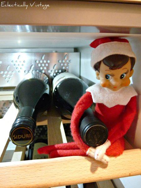 18 Hysterical Elf on the Shelf ideas!  #elfontheshelf kellyelko.com