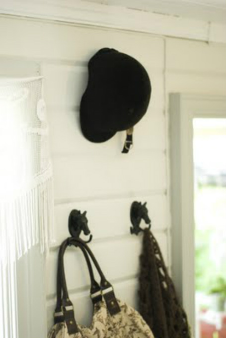 Cottage of Vinnord Mudroom Tour with an Equestrian twist kellyelko.com