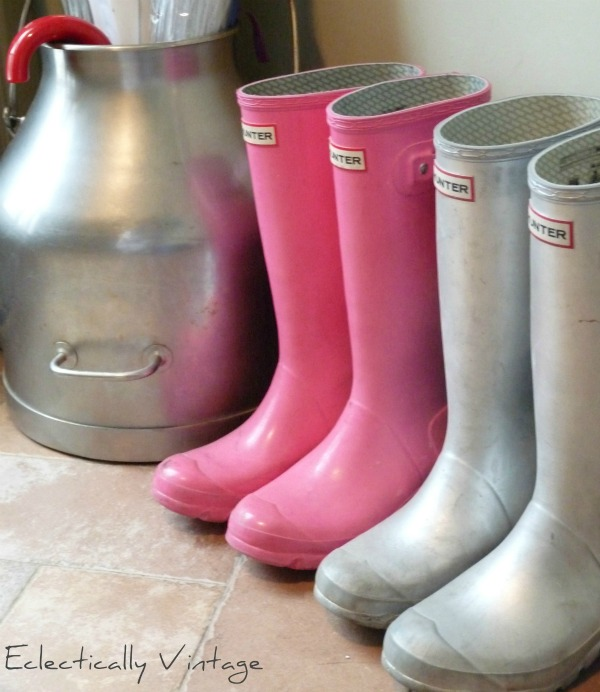 Colorful Wellies!