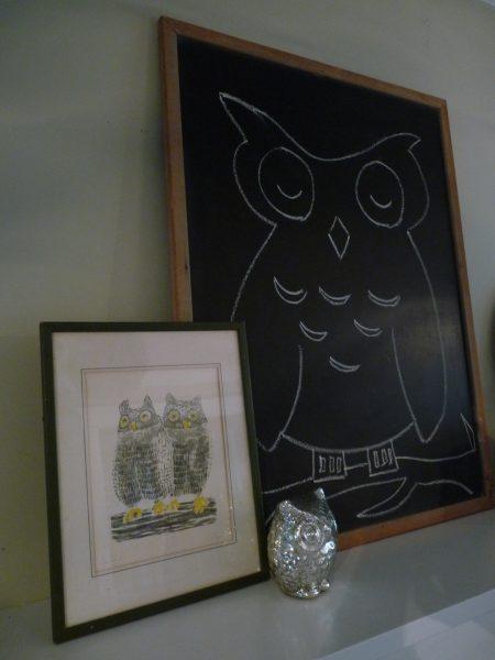 Owl Mantel