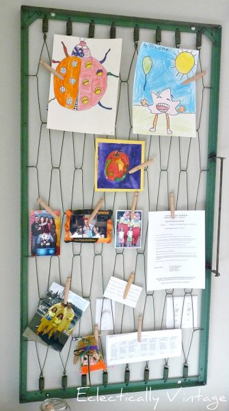 Crib Spring Memo Board