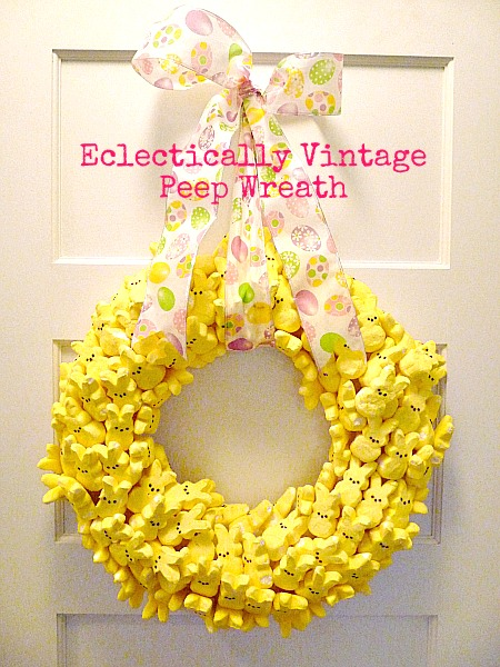 Eclectically Vintage Easter kids craft