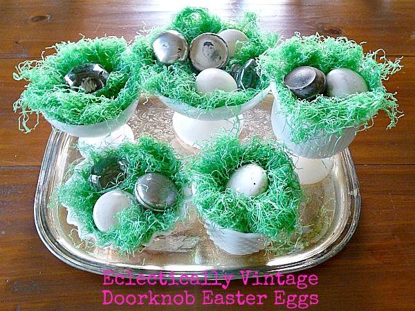 """Doorknob Easter """"Eggs"""" kellyelko.com"""