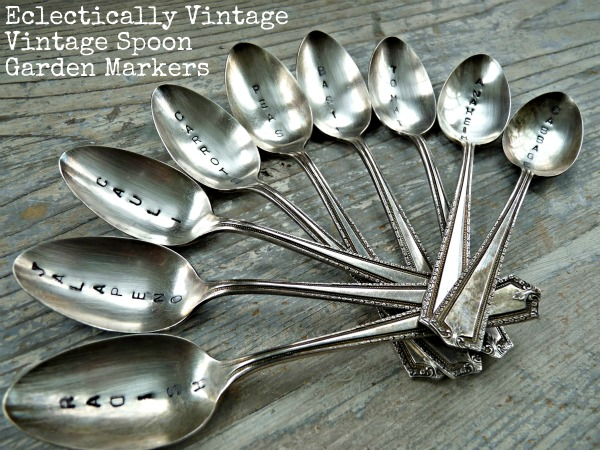 Vintage Stamped Spoons - Make Great Gift eclecticallyvintage.com