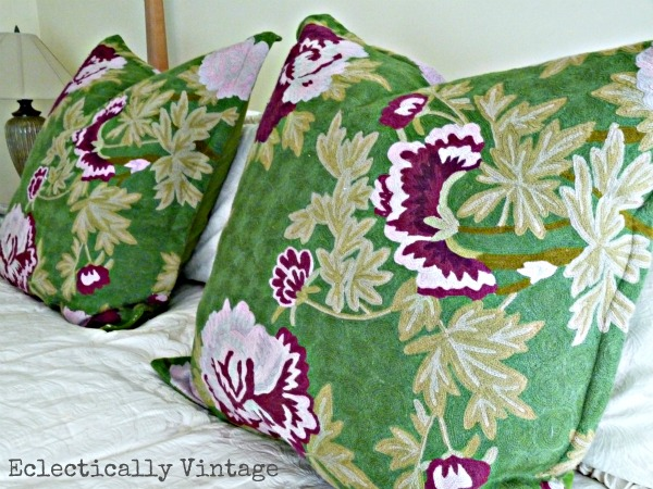 Anthropologie pillows eclecticallyvintage.com