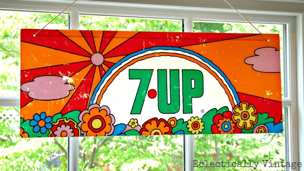 peter max 7-up sign
