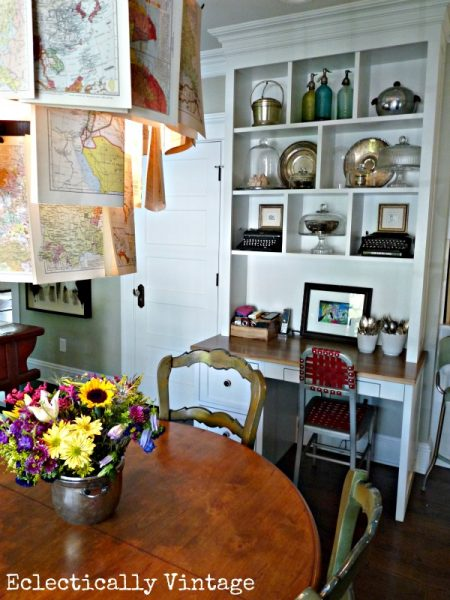 Eclectically Vintage Kitchen Table