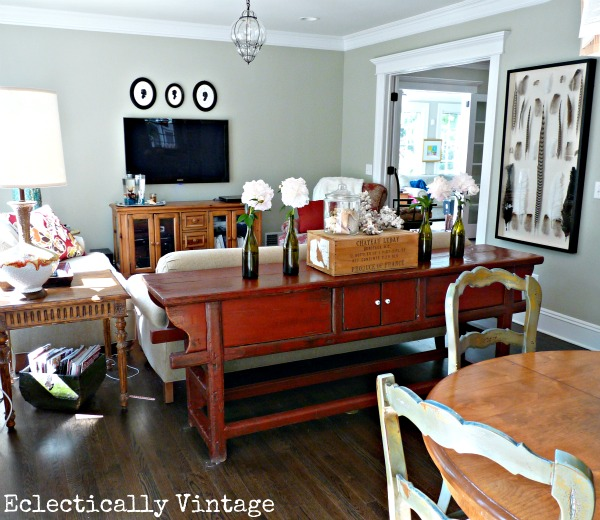 Beautiful family room - great layout and use of space kellyelko.com