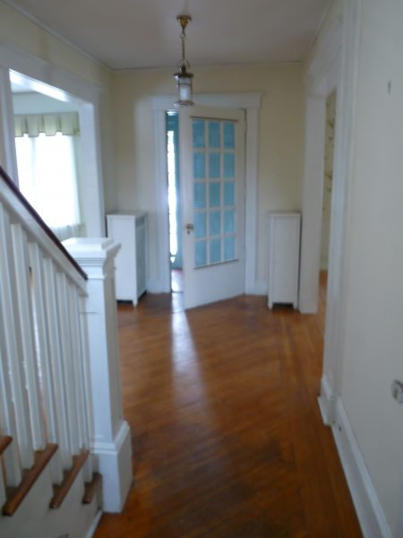 Before Foyer - you've got to see the after!  kellyelko.com
