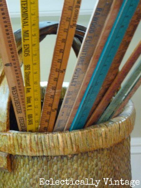 Vintage Yardstick Collection