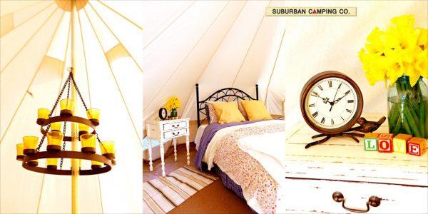 Suburban Camping Company - go glamping! kellyelko.com