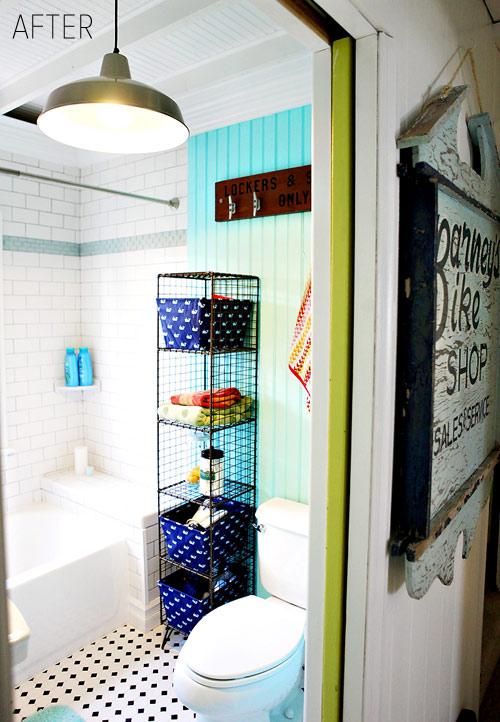 Beach Bathroom Decor - love the colors kellyelko.com