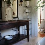 Wooden Bathroom Vanity - Urban Orchards