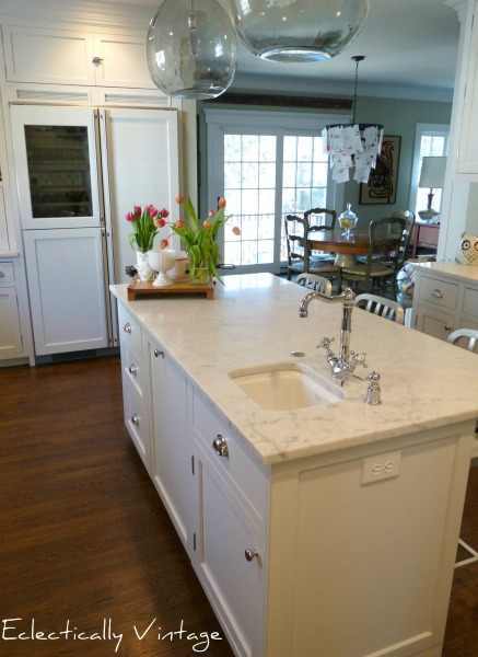 White Kitchen - Eclectically Vintage