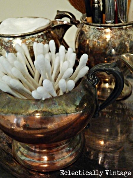 Silver Storage:  Eclectically Vintage