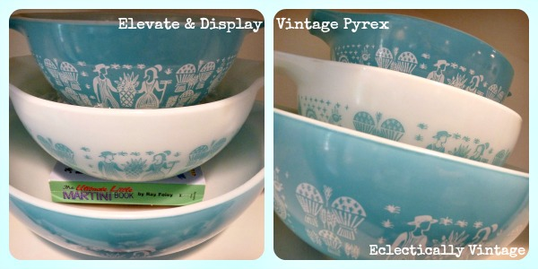 Displaying Vintage Pyrex