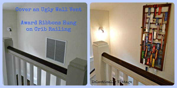 How to Disguise Wall Vents with a Crib Railing at