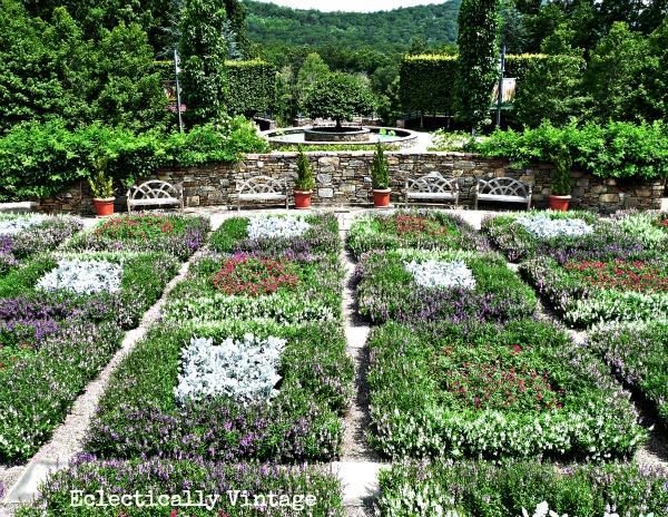 """Quilt"" Garden at Asheville Arboretum"