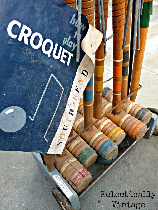 South Bend Croquet Set