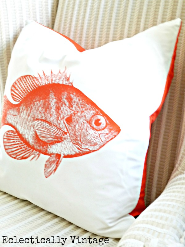Eclectically Vintage Pillow