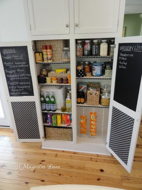 Kitchen pantry organization ideas kellyelko.com