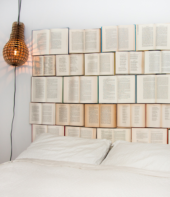 Eclectically Vintage - Creative Headboard Ideas