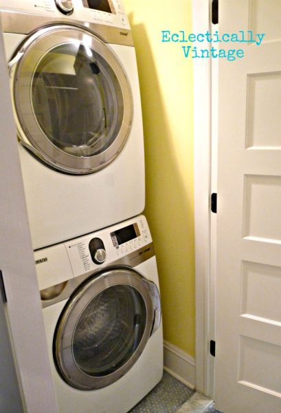 Eclectically Vintage Laundry Room