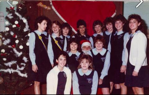 1980's High School Class