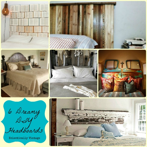 Eclectically Vintage Bedrooms