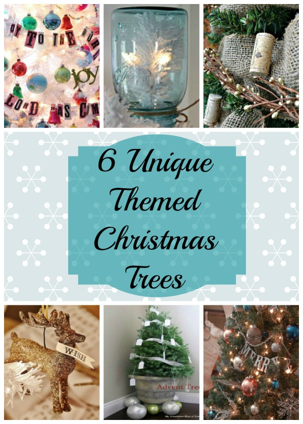 Unique Theme Christmas Trees eclecticallyvintage.com