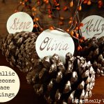 Fall Crafts, Thanksgiving, place settings