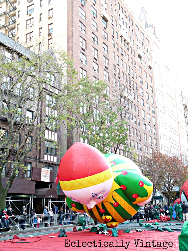 Macy's Thanksgiving Day Parade Float Inflation