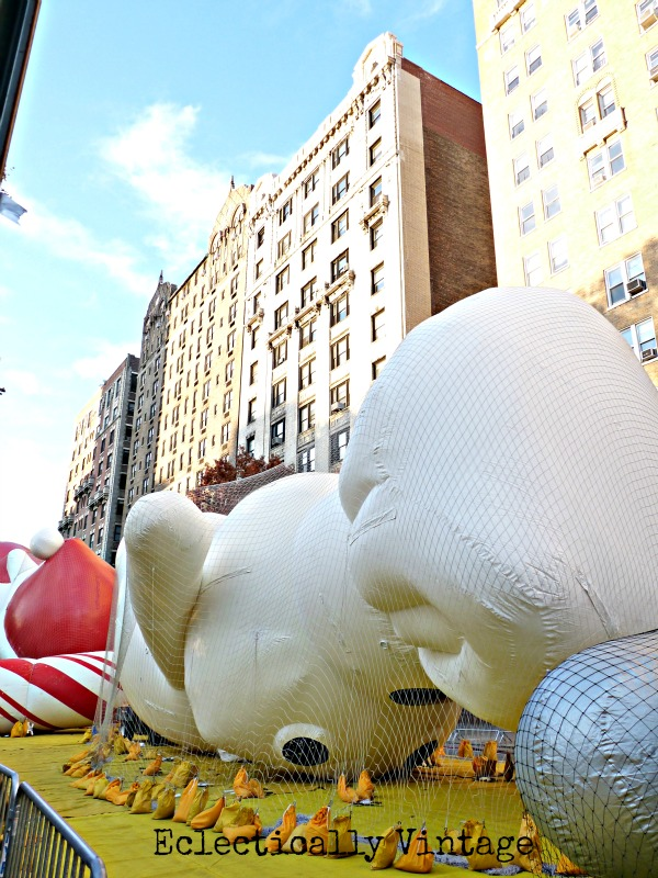 Macy's Thanksgiving Day Parade Float Inflation - Doughboy