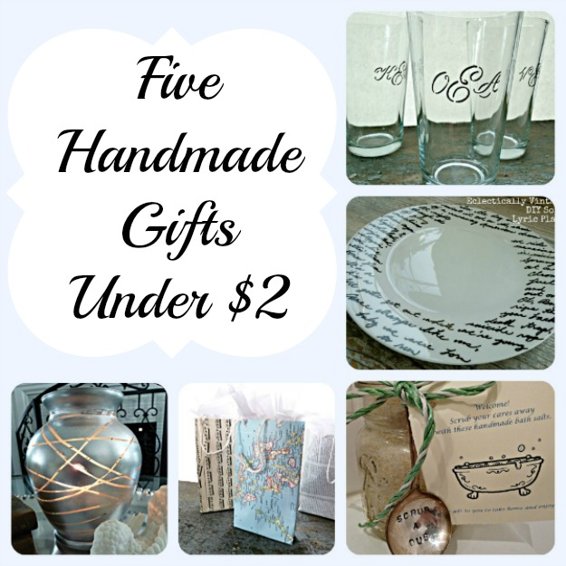 5 Quick Handmade DIY Gifts - great hostess gifts! kellyelko.com