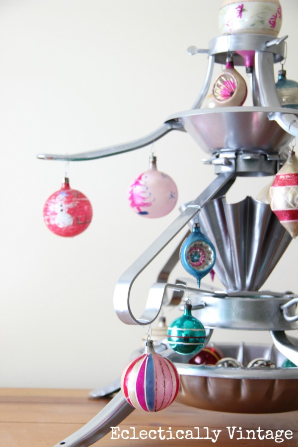 Unique Christmas Trees - a Christmas Tree Stand Tree!  kellyelko.com