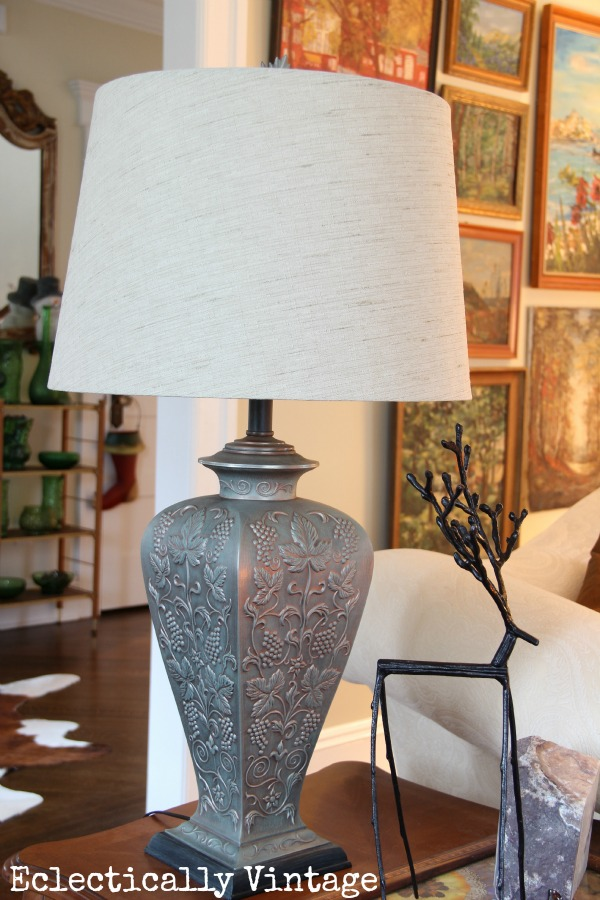 Eclectically Vintage lighting