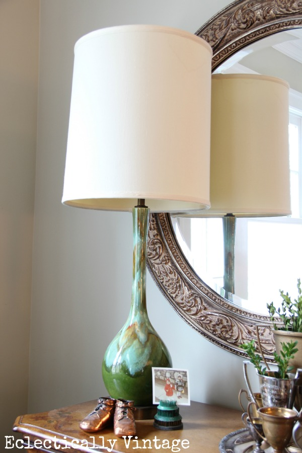 Eclectically Vintage mid century lighting