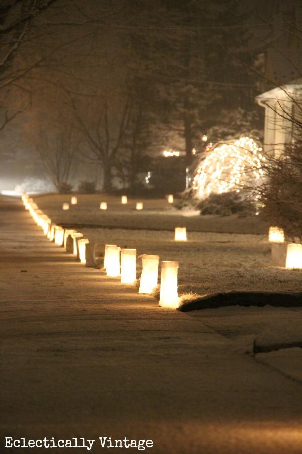 A Street of Luminaries
