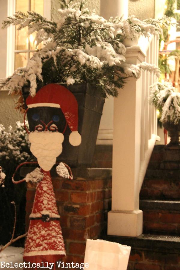 Santa Baby says Let It Snow