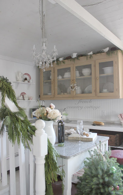 french country cottage christmas tour