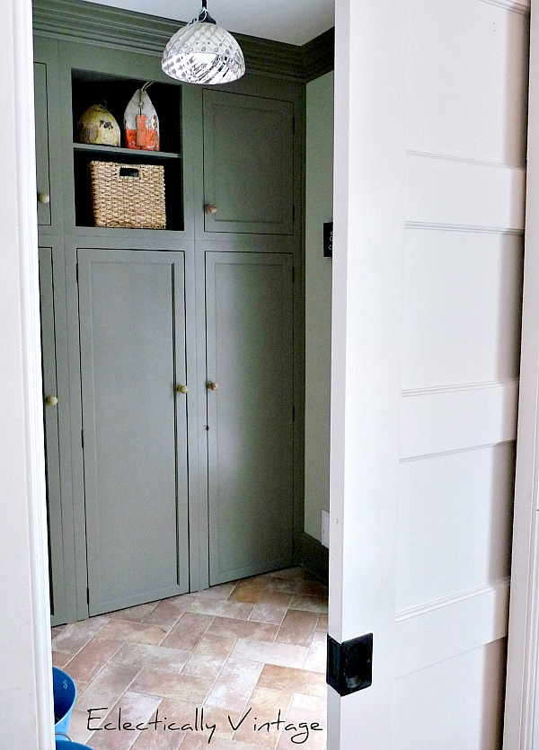 Mudroom Renovation Eclectically Vintage