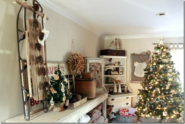 Christmas Family Room - part of a full house tour