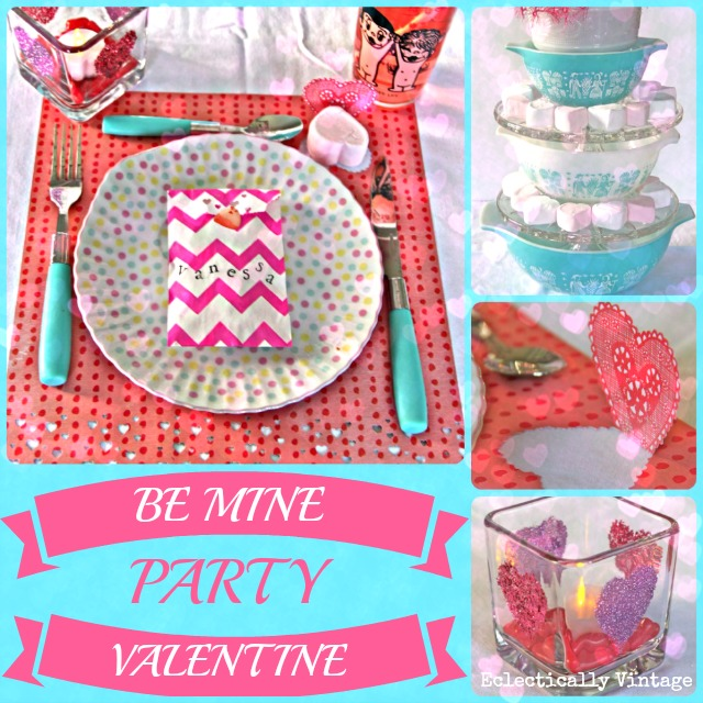 Eclectically Vintage Valentine