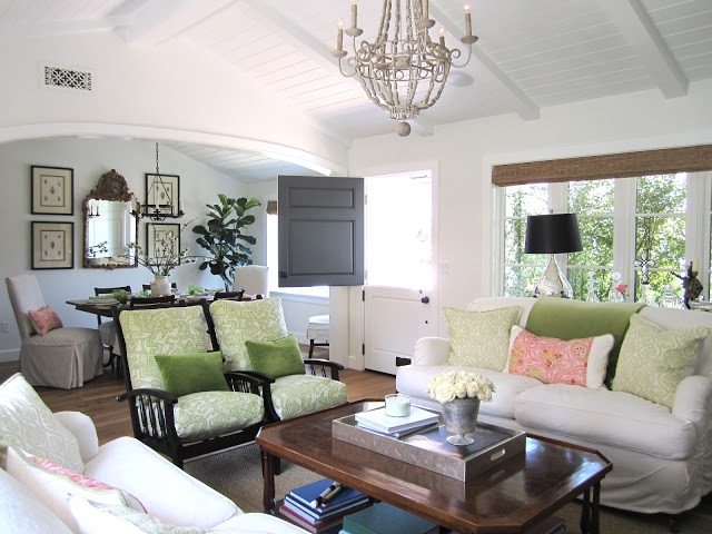 Casual Classic Home Tour via Eclectically Vintage