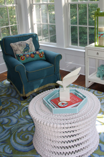 Vivid Home Tour - she knows how to use color!