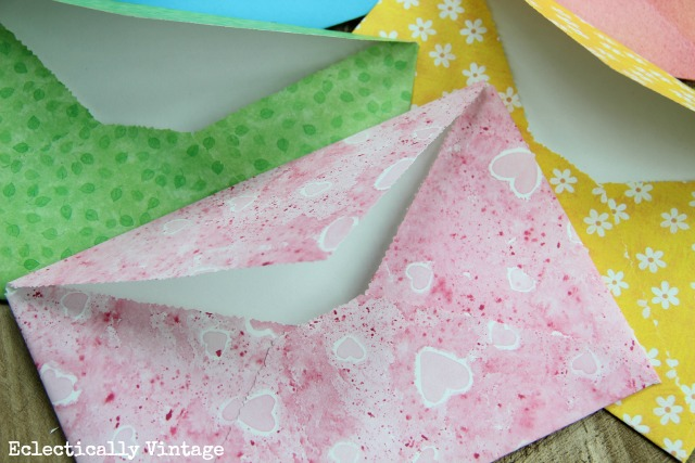 DIY Envelopes from any Paper - the world's simplest way to make them!  eclecticallyvintage.com