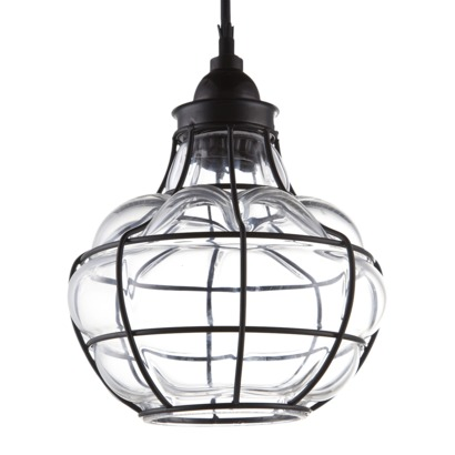 Target Threshold Caged Pendant Lamp via Eclectically Vintage