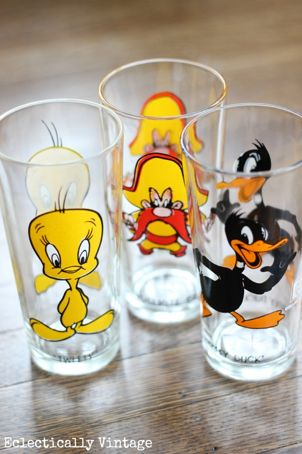 Eclectically Vintage thrift finds vintage Looney Tunes Pepsi