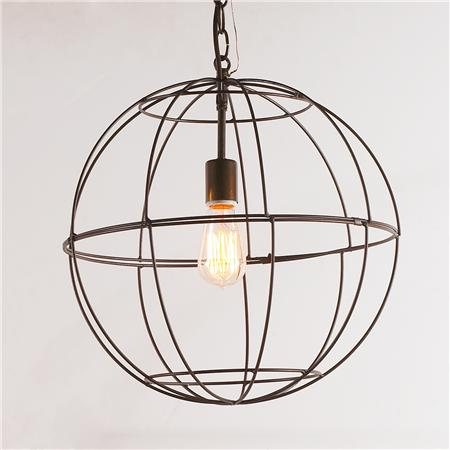 Shades of Light Small Wire Globe Young House Love Light via Eclectically Vintage